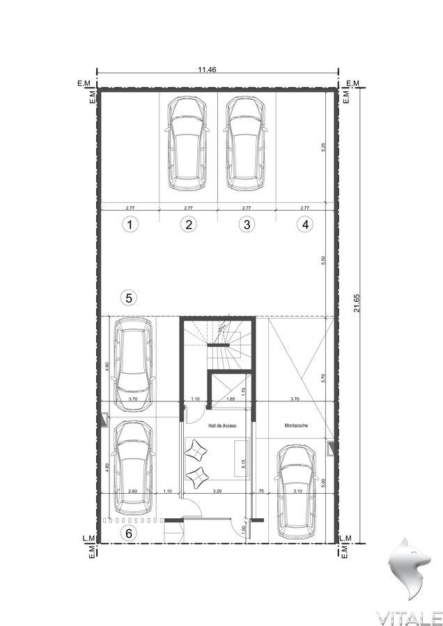 Foto Edificio en Guemes  Rawson 1700 número 19