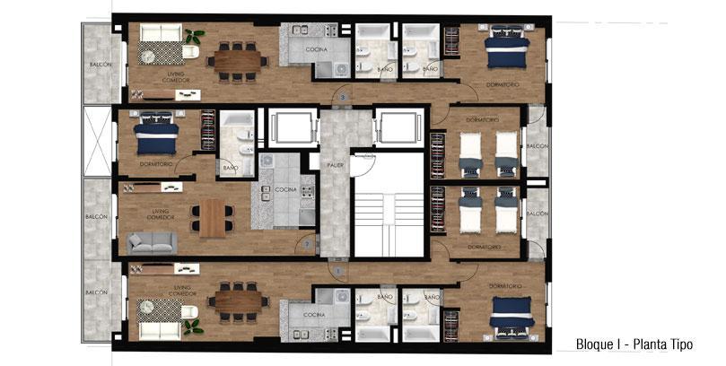 Foto Edificio en Martin 3 DE FEBRERO 450 número 7
