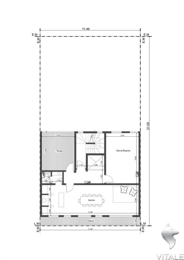 Foto Edificio en Guemes  Rawson 1700 número 15