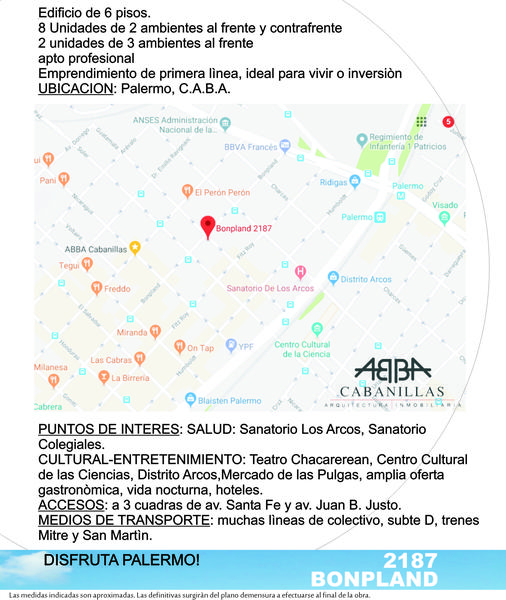 Foto Edificio en Palermo Hollywood Bonpland y Guatemala número 11