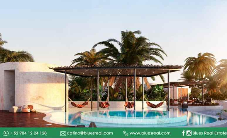 Unit picture Apartment in Sale in  Tulum ,  Quintana Roo  New condos in Anah Tulum Hunab - Code 569 - Blues Real