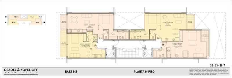 Foto Edificio en Las Cañitas BAEZ 546 número 9