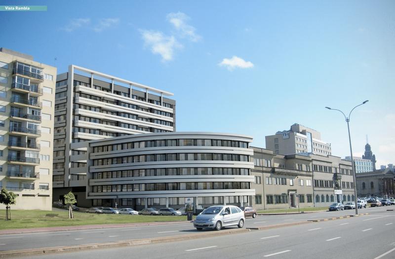 Foto EMPRENDIMIENTO - Edificio en  en  Montevideo , Uruguay  Rambla y Zabala