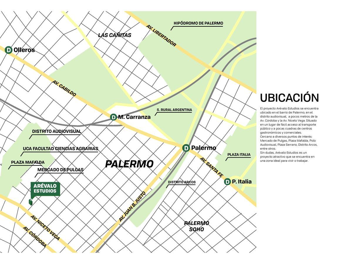 Foto Edificio en Palermo Hollywood Arévalo 1400 número 3