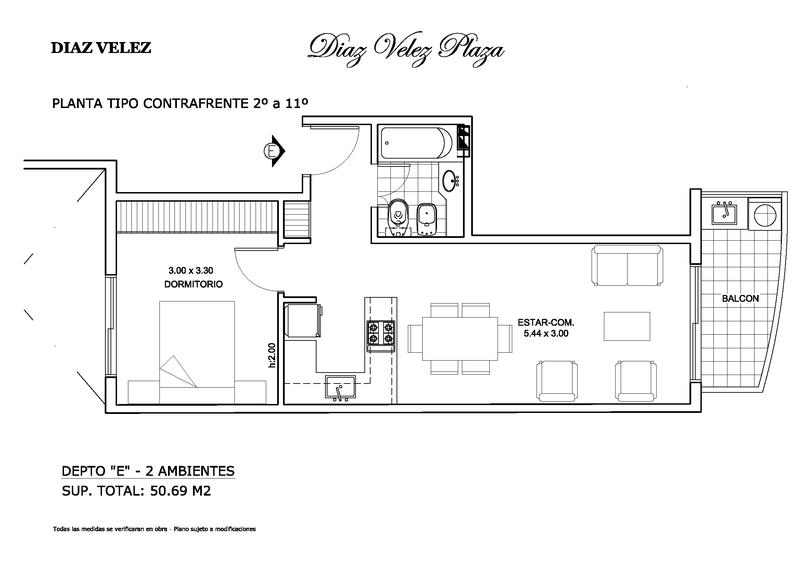 Foto Edificio en Almagro Departamentos en construcción casi listos a estrenar Av Diaz Velez número 6