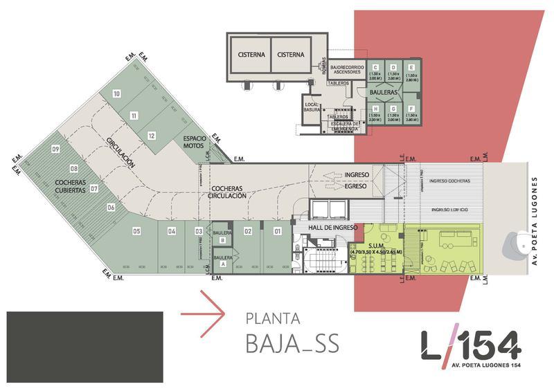 Foto Edificio en Nueva Cordoba Av. Poeta Lugones 154- L154 número 11
