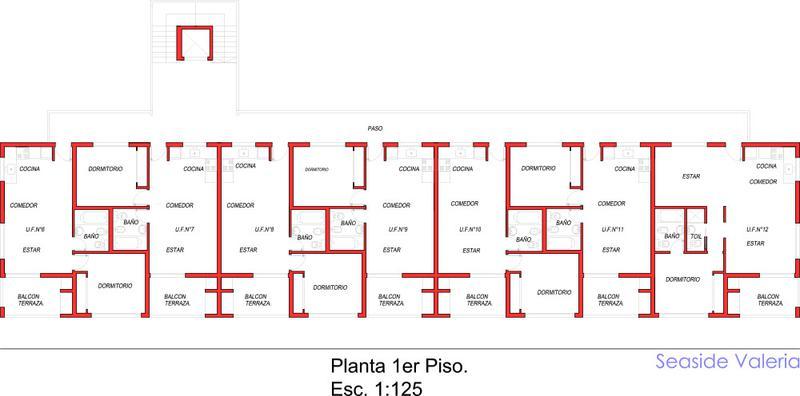 Foto Edificio en Valeria Del Mar Av. Costanera Alte. G. Brown  número 10