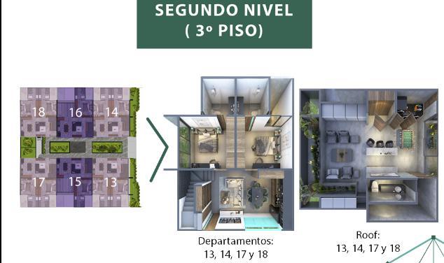 Foto Condominio en Mérida Taliva departamentos número 8