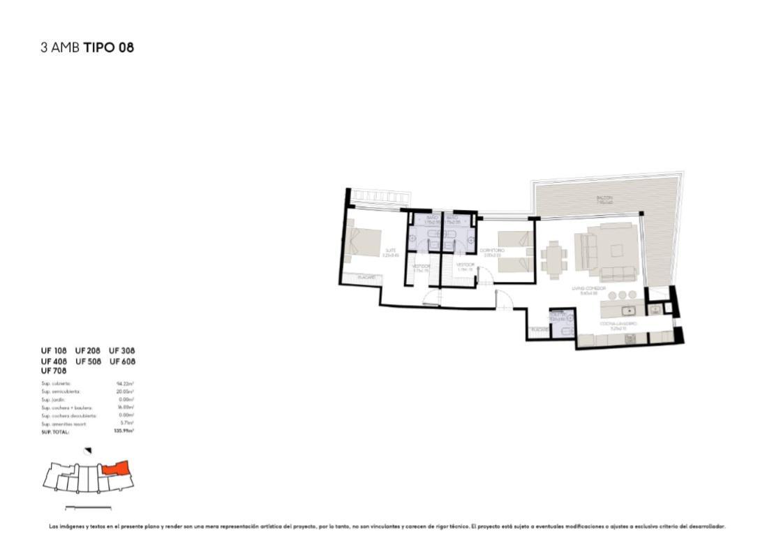 Foto Edificio en Yoo Nordelta YOO3 by ACQUA Excelencia en diseño y confort número 38