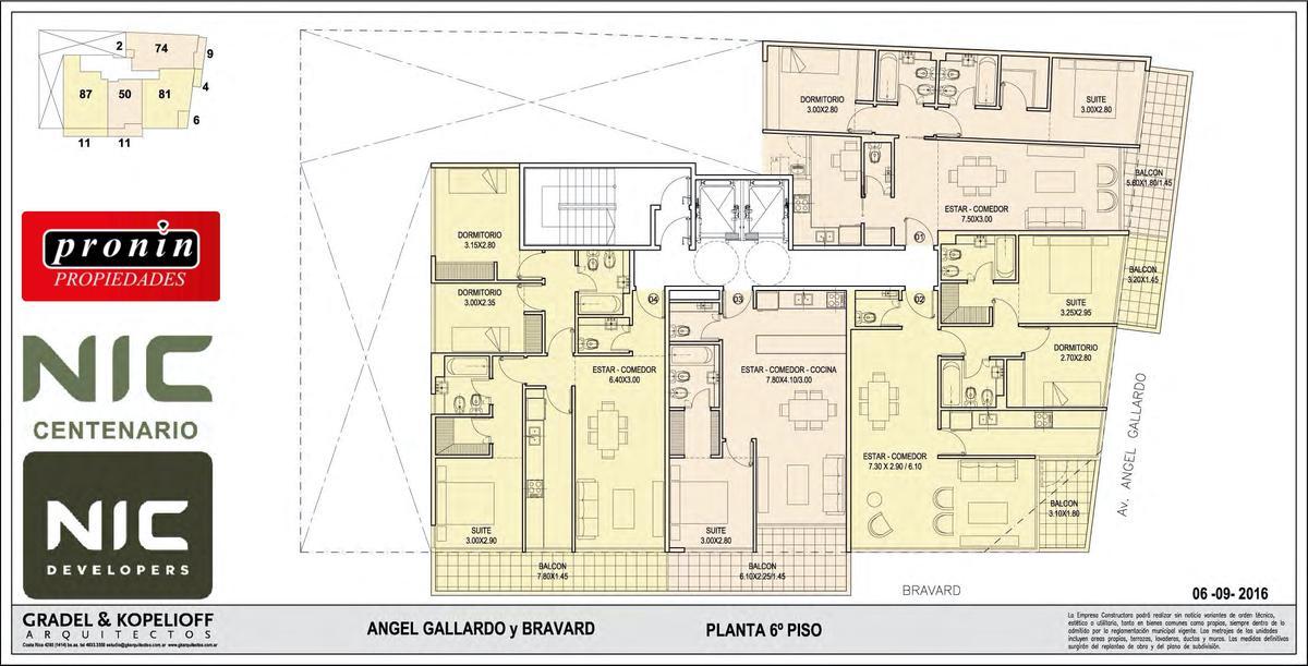 Foto Edificio en P.Centenario             Av Angel Gallardo y Bravard           número 13