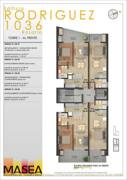 Foto Edificio en Lourdes Rodriguez 1036 número 6