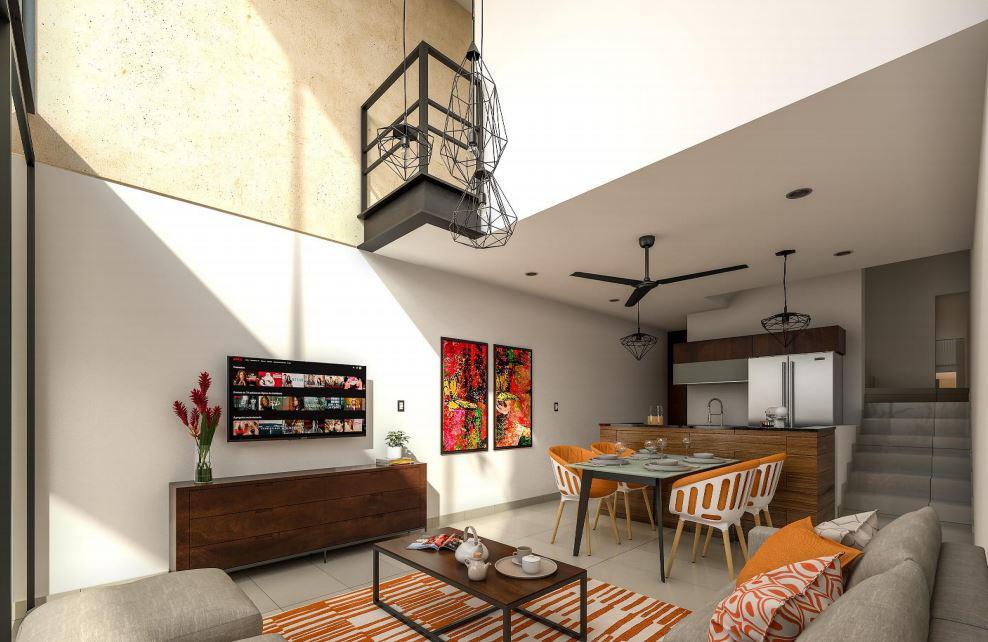 Foto Barrio Privado en Mérida             VENTA EXCELENTE DEPARTAMENTOS LOFTS, TOWN HOUSE Y VILLAS PRIV. SAO           número 9