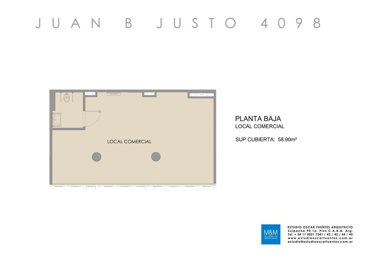 Foto Edificio en Caballito Juan B Justo 4098 número 11