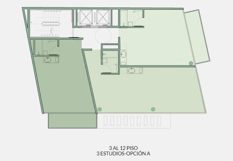 Foto Departamento en Venta en  Botanico,  Palermo  Armenia al 2400 -Unidad 401 A