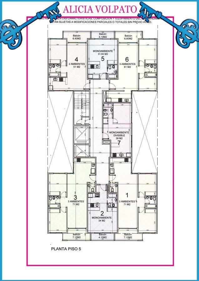 Foto Edificio en Wilde LAS FLORES 535 número 6