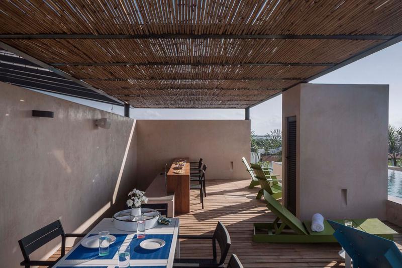 Foto Edificio en Zazil Ha Coco Beach a una cuadra del Mar, Playa del Carmen. Quintana Roo. número 18