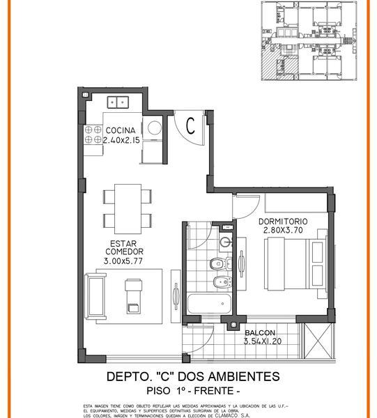 Foto Edificio en Moron Sur Mariano Moreno 700 número 15