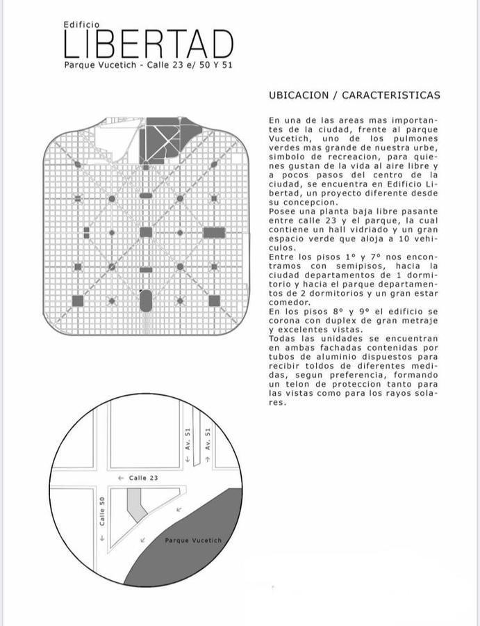 Foto Departamento en Venta en  La Plata ,  G.B.A. Zona Sur  23 E/ 51 y 53, 5° B