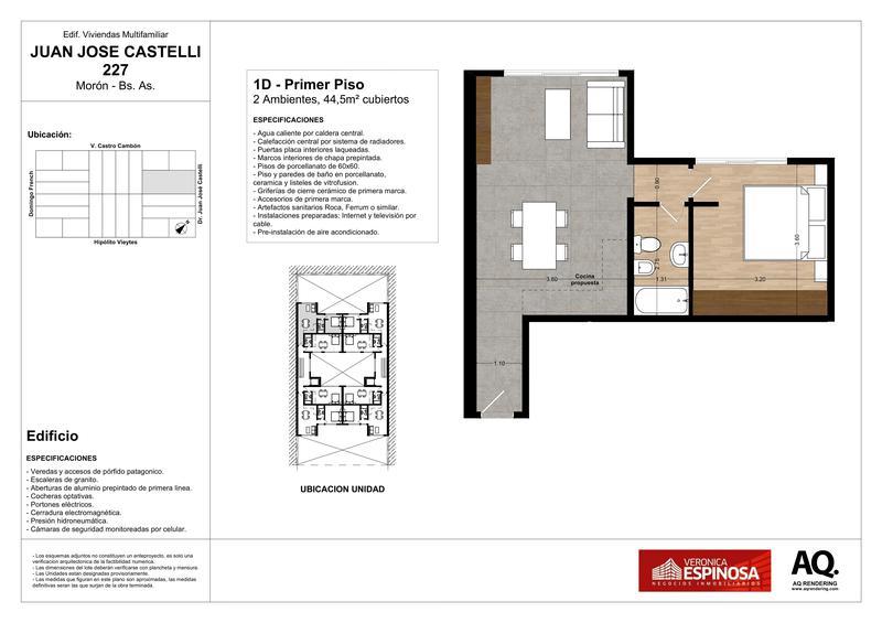 Foto Edificio en Moron Sur Castelli 200 número 15