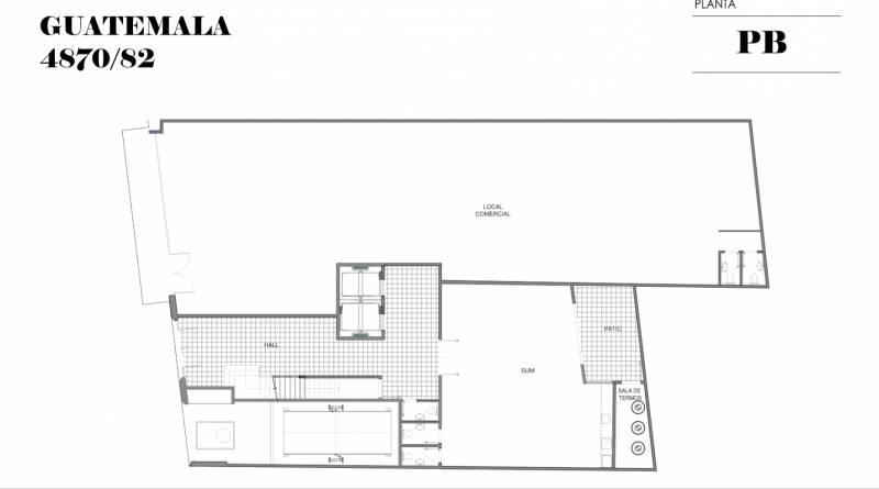 Foto Edificio en Palermo Soho GUATEMALA  4780 número 8