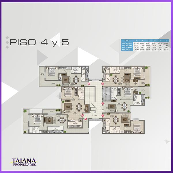 Foto Edificio en Nueva Cordoba             Lanin 9-Fructuoso Rivera 150           número 24