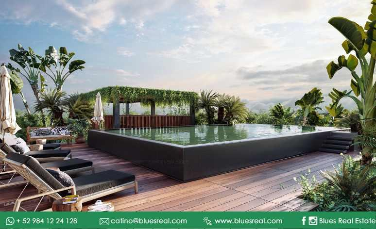 Unit picture House in Sale in  Tulum ,  Quintana Roo  New residences for sale at Bloom Maya Residential Tulum | Royal Blues | Code 900