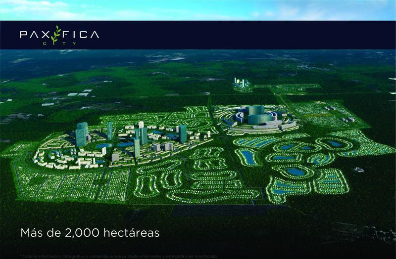 Foto Barrio Privado en Muxupip PAXIFICA CITY se encuentra ubicada al oriente de la ciudad de Mérida, Yucatán, en el municipio de Muxupip a tan solo 18 minutos. Cuenta con una inmejorable ubicación y accesibilidad gracias a la carre número 1