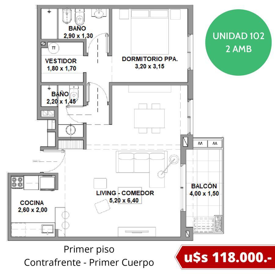 Departamentos con cochera fija en Tigre - Excelente ubicación - Fideicomiso al costo en pesos-11