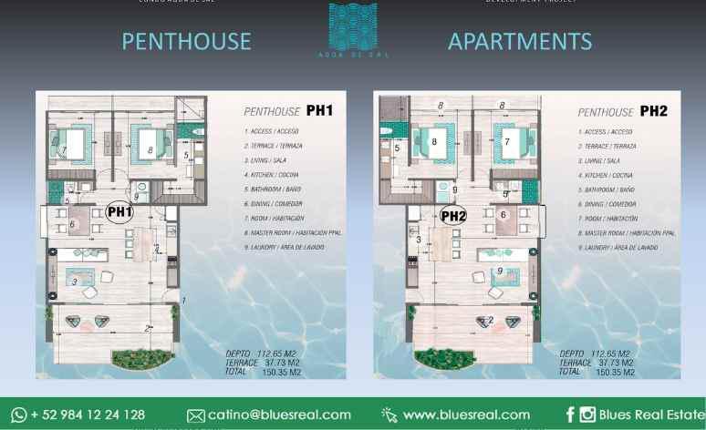 Unit picture Apartment in Sale in  Tulum ,  Quintana Roo  New apartment with 2 bedroom in Aqua de Sal in Tulum, Quintana Roo | Code 307