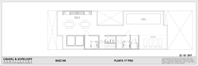 Foto Edificio en Las Cañitas BAEZ 546 número 4