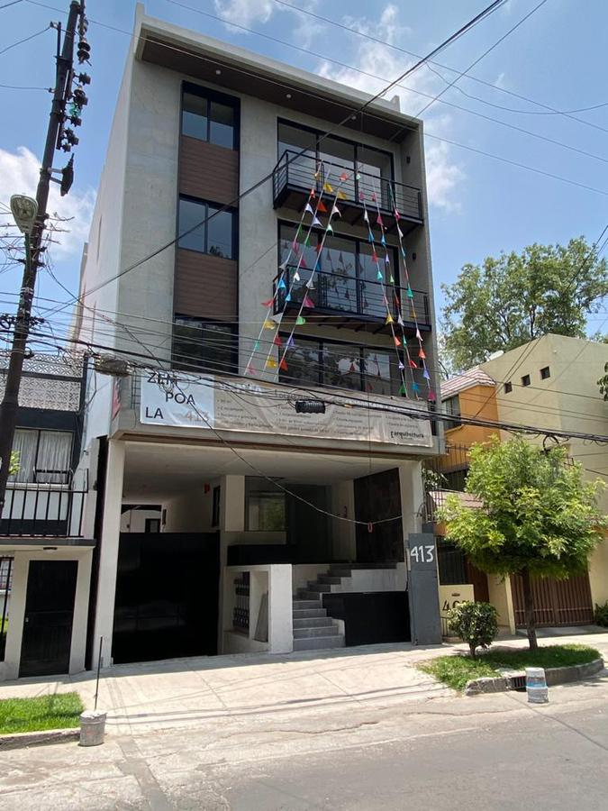 Foto Edificio en Narvarte Oriente Zempoala 413 número 1