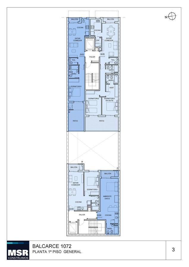 Foto Edificio en Centro BALCARCE 1072 número 4