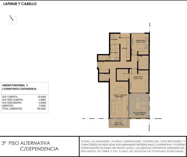 Emprendimiento DOME Lafinur Street en Palermo