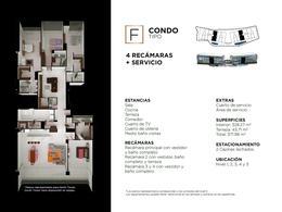 """Foto Edificio en Cancún Centro ALLURE Osean Front Luxury Condos """"Vive en la playa y en la ciudad""""  número 34"""
