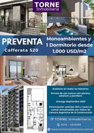 Foto Departamento en Venta en  Rosario,  Rosario  1 Dormitorio - Unidad C  - Cafferata 520 - Edificio Cartagena