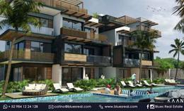 Thumbnail unit picture Apartment in Sale in  Tulum ,  Quintana Roo  For sale new apartments in Kaanal Condos | Blues Real | Code 468
