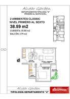 Foto thumbnail unidad Departamento en Venta en  Ituzaingó,  Ituzaingó  Alvear 900 4ºD