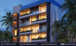 Thumbnail unit picture Apartment in Sale in  Playa del Carmen,  Solidaridad  For sale new apartments in Pura Playa Condo | Blues Real | Code 463