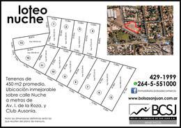 Foto Barrio Abierto en Capital    Calle Nuche a Metros de Av. Ignacio de la Roza       número 1