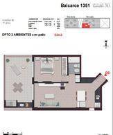 Foto Edificio en Centro BALCARCE 1351 número 10