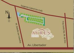 Foto thumbnail unidad Terreno en Venta en  Ayres Village,  Rivadavia  Manuel Zavalla, antes de Sargento Cabral