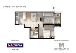 Foto Edificio en Palermo CHARCAS 4470 número 18