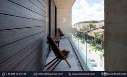 Thumbnail unit picture Apartment in Sale in  Solidaridad ,  Quintana Roo  New residences at Oceana in Playa del Carmen | Blues Real | Code 638