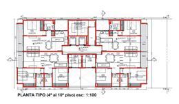 Foto Edificio en Santa Genoveva  Islas Malvinas 800 número 15
