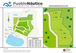 Foto Terreno en Venta en  Dique Los Molinos,  Santa Maria  Venta Lote 104 Pueblo Nautico, Nautico Los Molinos. Cordoba