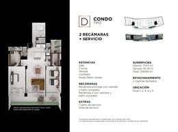"""Foto Edificio en Cancún Centro ALLURE Osean Front Luxury Condos """"Vive en la playa y en la ciudad""""  número 32"""