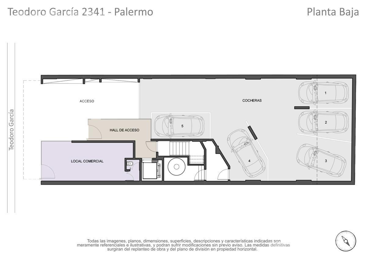 Foto Edificio en Palermo Teodoro García entre Av. Cabildo y 3 de Febrero numero 15