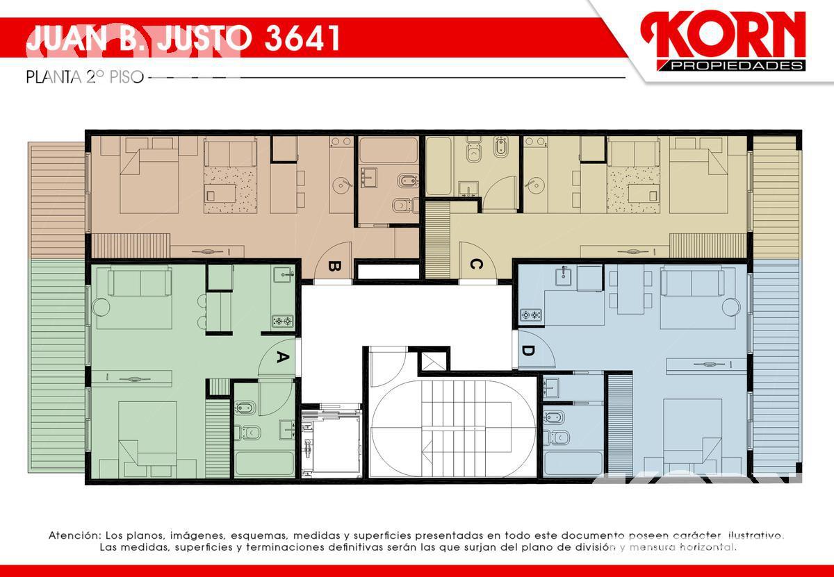Foto Edificio en Villa Crespo Av. Juan B. Justo al 3600 entre Repetto y Cucha Cucha numero 7
