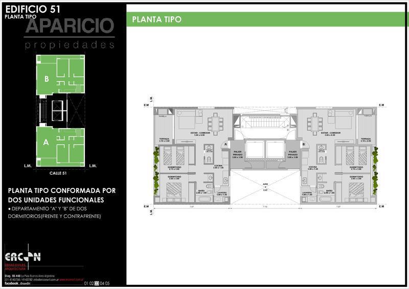 Foto Edificio en La Plata 51 entre 18 y 19 número 3