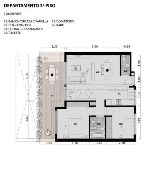 Foto Edificio en Saavedra Ruiz Huidobro 2800 número 15